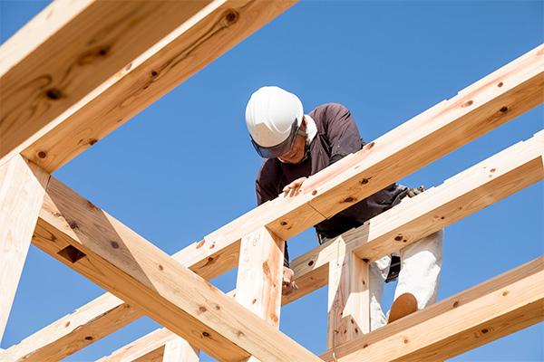 棟梁一人につき一棟の自社施工で確かな「技術」と「安心」